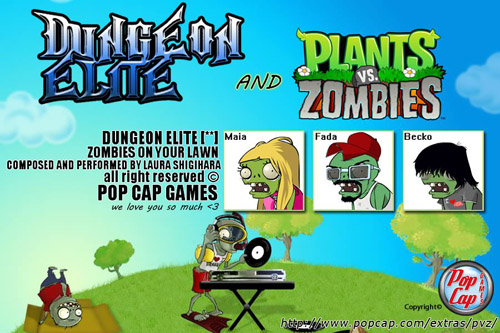 Dungeon elite zombies on your lawn plant vs zombies cover